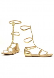 Women's Gladiator Flat Sandal With Double T-Strap