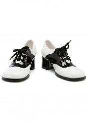 "Childrens 1.75"" Saddle School Shoes"