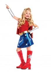 Children's 1.75 Inch Heel Gogo Boot With Star