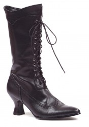 Women's 2 1/2 Inch Heel Ankle Boot With Lace