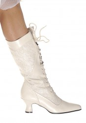 Women's 2 1/2 Inch Heel Boot With Lace