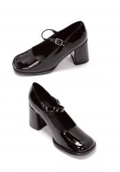 3 Inch Heel Mary Jane Women'S Size Shoe