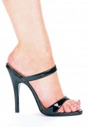 5 Inch Heel Slip On Sandal Women'S Size Shoe With Skinny Straps