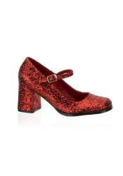3 Inch Block Heel Mary Jane Pump