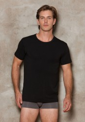 Men's Modal Crewneck T-Shirt.