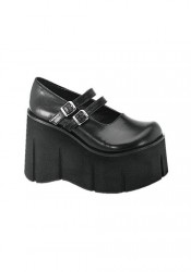 4 1/2 Inch Double Strap Platform Shoes