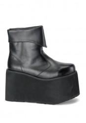 Mens Platform Inner Zipper Ankle Boot, 5 Inch