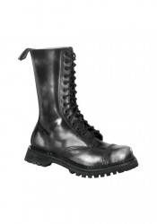 Men's/Unisex 14 Eyelet Steel Toe Calf Boots