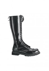 Men's/Unisex 20 Eyelet Steel Toe Knee Boot