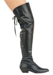 Thigh High Cow Leather Boot