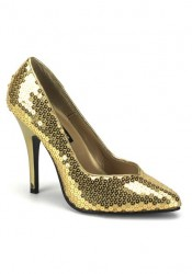 5 Inch Classic Pump With Sequins