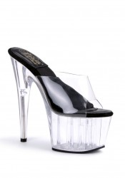 Women's No Slip Platform Slide With 'O' Shaped Heel