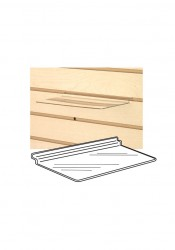 Clear Acrylic Slatwall Shelf Shoe Shelves