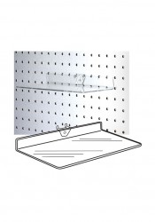 Clear Acrylic Pegboard Shelf Shoe Shelves