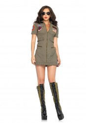 Top Gun Flirty Fighter Pilot Costume
