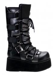 Men'S 3 1/2 Inch Platform Calf Boot