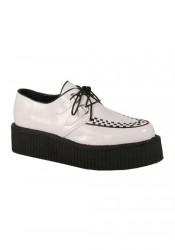 Mens 2 Inch Platform Basic Veggie Creeper Shoe