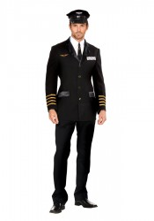 Mile High Pilot Hugh Jorgan Male Costume