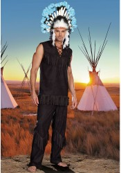 Chief Wansum Tail Male Costume