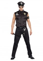 Dirty Cop Officer Ed Banger Male Costume