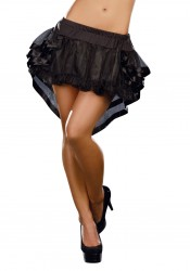 High-Low Fairytale Petticoat with Satin Trim