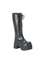 Men's/Unisex 3 1/2 Inch Platform Knee Boots