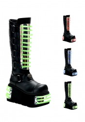 Men'S 4 1/2 Inch Platform Knee Boot With Interchangeable Panels