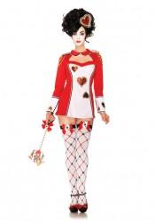 2 Pc Heart Card Guard Sexy Costume