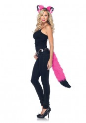 2 Pc Hot Pink Rockin' Fox Kit