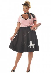 50'S Sweetheart Retro Holiday Party Costume