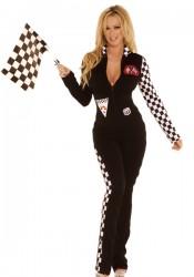 2 Piece Race Car Driver Costume