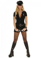 3 Piece Officer Arrest Me Costume