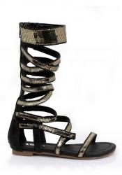 0 Inch Gladiator Flat Sandal