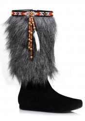 1 Inch Heel Boot